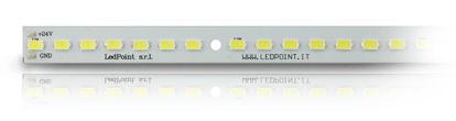 Image de Barre led en aluminium avec 56 Led, blanc naturel 6000-6500K, 5730 Honglitronic LED, 0.96 A max