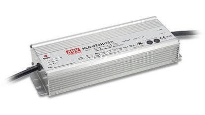 Image de Transformateur Mean Well 320W 24V avec entrée (1~10Vdc, PWM ou résistance), IP67