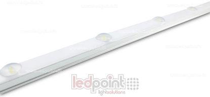 Image de Barre de LED imperméable 50cm 6000K 6 LED 2835 24V