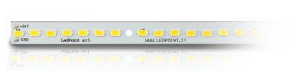 Image de Barre led avec 56 leds, Blanc chaud 2900-3000K, 5730 Honglitronic Led, 0.96A max