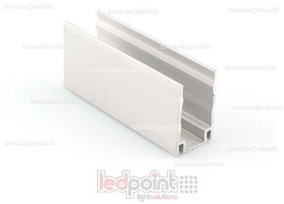 Image de Clip de fixation en aluminium, 5cm, pour Led Neon Flex 11mm