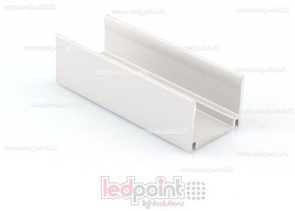 Image de Clip de fixation en aluminium, 5cm, pour Led Neon Flex 17mm