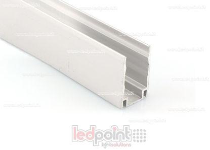Image de Barre de fixation en aluminium, 1m, pour Led Neon Flex 11mm