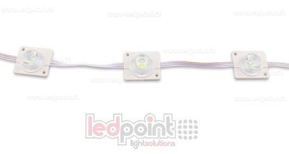 Image de Module led 3535, 2,2W 12V, blanc froid 6000-6500K, IP65 avec lentille 20°*60°