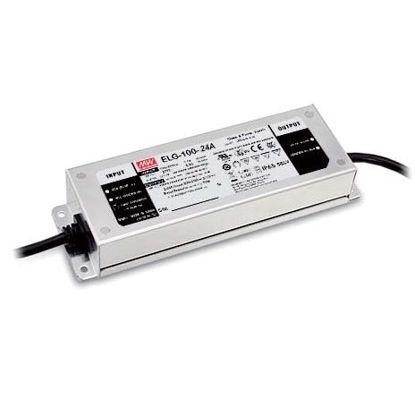 Image de Transformateur Mean Well, 24V, 100W, IP65 (ELG-100-24A-3Y)