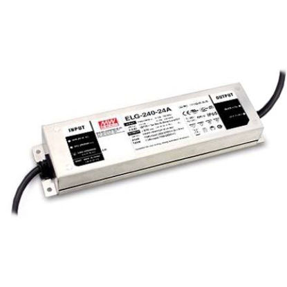 Image de Transformateur Mean Well, 24V, 240W, IP67 (ELG-240-24A-3Y)