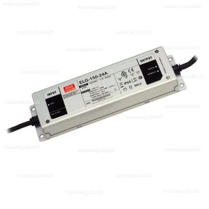 Image de Transformateur Mean Well, 24V, 150W, IP65 (ELG150-24A)