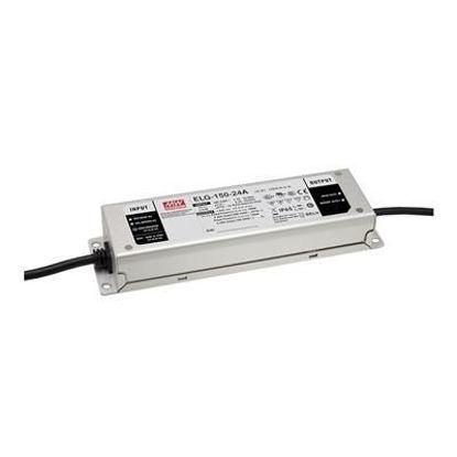 Image de Transformateur Mean Well, 24V, 150W, avec  entrée (DALI), IP67 (ELG150-24DA-3Y)