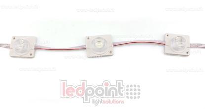 Image de Module led 3535, 2,2W 12V, blanc froid 3000-3220K, IP65 avec lentille 20°*60°