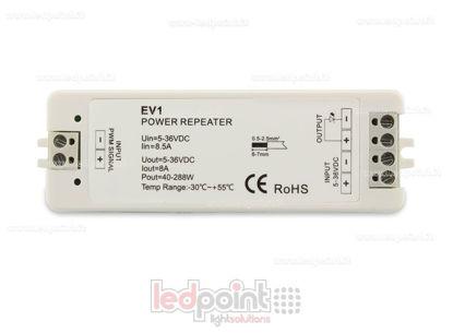 Image de Amplificateur de signal monocouleur 5-36V 8A 1 canal