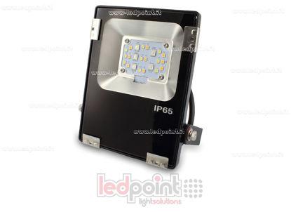 Image de Projecteur extérieur RGB+CCT 10W 230V noir
