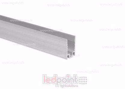 Image de Barre de fixation en aluminium, 1m, pour Led Neon Flex 8mm