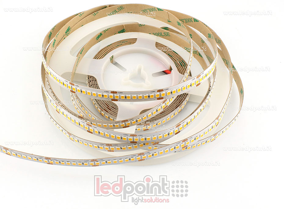 Ruban led 2835 24V IP20 3000K 3step 240led/m F52-30s-x240DF2/14.4