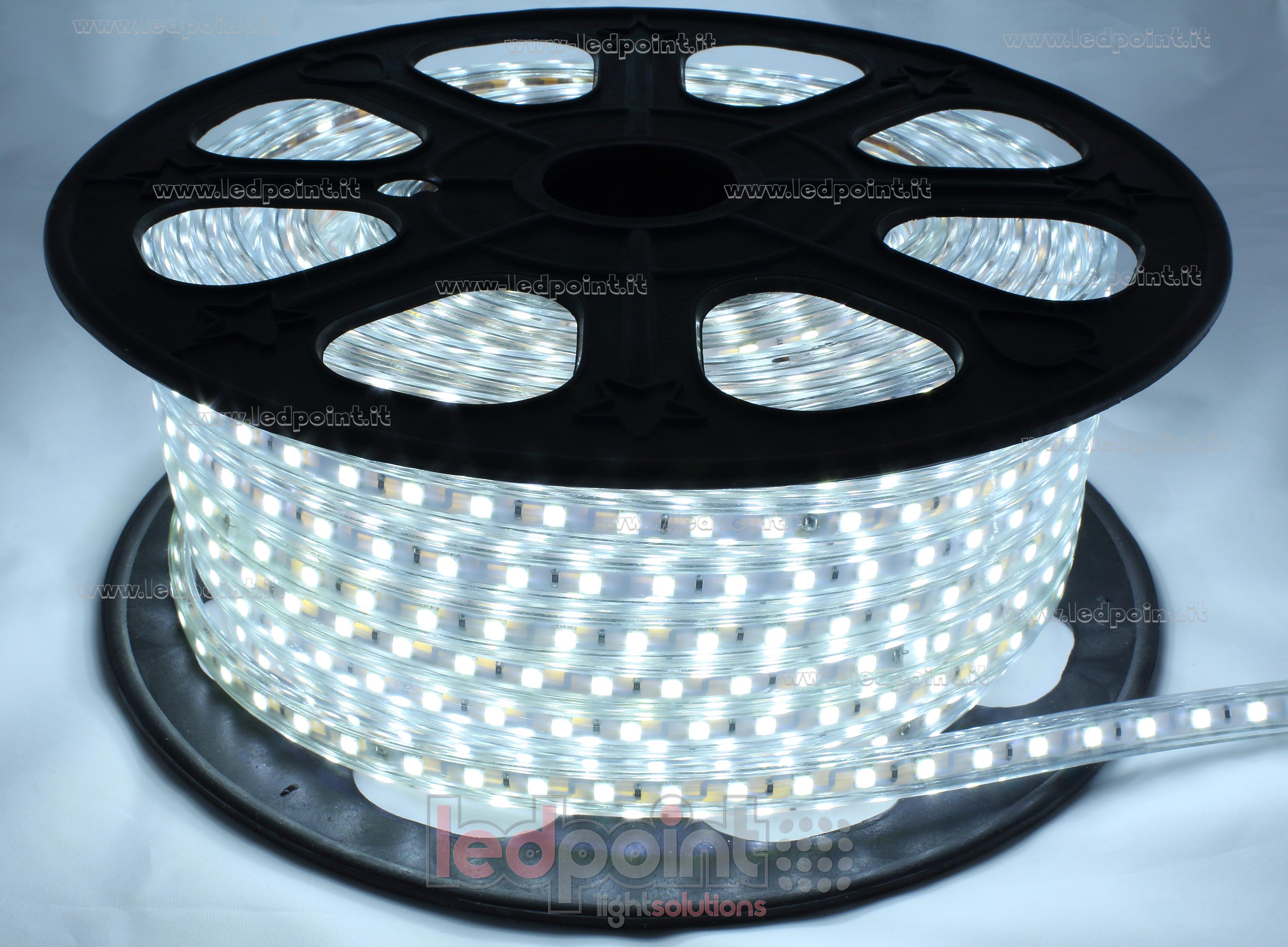 led strip 50m cool white 6000 6500k ip65 60leds m. Black Bedroom Furniture Sets. Home Design Ideas