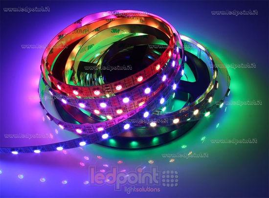 ruban led rgb 5m 5050 60led m 5v 13w m ledpoint s r l. Black Bedroom Furniture Sets. Home Design Ideas