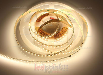 Image de Bande led Blanc chaud 5m 2900-3000K 120leds/m Honglitronic 2835 24V 24W/m