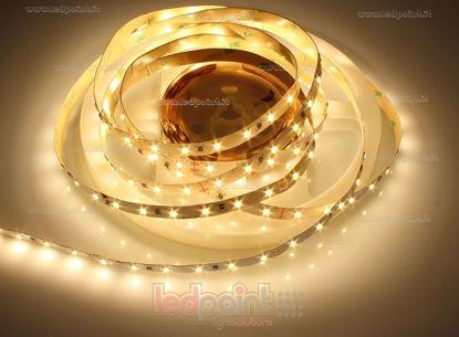 Image de Ruban led Blanc chaud 5m 2900-3000K 60leds/m Honglitronic 2835 24V 14,4W/m